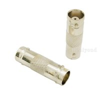 Wholesale Bnc Male Jack - Free shipping 50pcs Plug BNC Male to BNC Female Jack Adapter Coax Connector Coupler plug for cctv camera