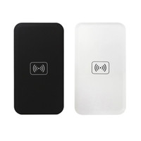 Tragbare Qi Wireless Charger Lade Pad Panel Sender Empfänger für iPhone 6/6 Plus / 5/5 S / 4/4 S, Samsung S3 / 4/5/6 Hinweis 2/3