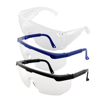 Wholesale Wholesale Frameless Paintings - Wholesale-New Portable Useful Safety Eye Protection Transparent Clear Goggles Glasses From Lab Dust Paint Anti Fog Free Shipping