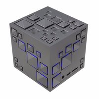 Wholesale Music Cube Speaker - Cube Wireless Speaker Stereo Magic Cube Music Player with Colorful LED Light Mini Speaker for iPhone iPad,Home Outdoor Party