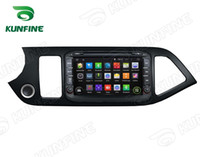 Wholesale Dvd Kia Picanto - Quad Core 1024*600 HD Screen Android 5.1 Car DVD GPS Navigation Player for KIA PICANTO 2014 Radio Bluetooth Wifi 3G Steering Wheel Control