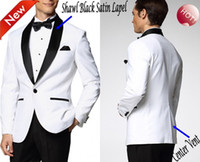 Wholesale Sequin Tuxedo Jacket Men - Custom Made Groom Tuxedos 24 Styles Best man Suit Hot Sale Brand New Groomsman Men Wedding Suits Bridegroom(Jacket+Pants+Tie+Girdle)J678