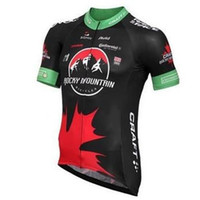 Wholesale 2015 Brand New Rocky Mountain Black Team Cycling Jerseys Tops Summer Short Sleeves Shirts High Wicking and Breathable Bicycle Clothing