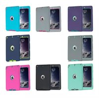 Wholesale Hard Case Sale - Hot Sale!! For Apple iPad 2 3 4 Amor Shockproof Defender Robot Heavy Duty Hard cover Case Extreme silicone cover DHL