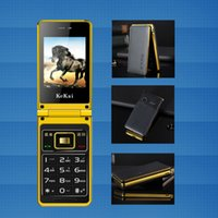 Wholesale Smart Flip Cell Phones - mobile cell phone, no smart, long standby time, dual sim card ,dual standby, flip phone