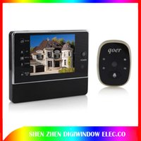 Venda de férias Câmera Peephole Digital com porta Bell New 3,0 polegadas Ultra Bright TFT LCD Display Night Vision Viewers