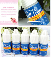 Wholesale Nail Glue For Free - Acrylic UNA Bond Nail Glue 3g Makeup Glue for Nail Art Tips Nail Glue Adhesive Free Shpping