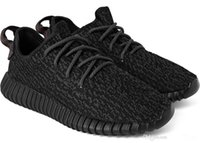 Wholesale Dropshipping Shoes - Cheap Fashion 350 Boost 350 pirate black Classic Men and Women sports Running Shoes Fashion Sneakers Dropshipping Accepted shipping with box