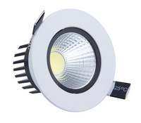 Wholesale glass dimmable remote light switches for sale - Group buy Dimmable w w Warm Pure Cold White COB led down light v led spot recessed ceiling lamp dimmable led ceiling downlight COB Led Lamp