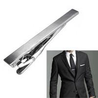 Wholesale Tie Clip Prices - Wholesale-The Best Price For Men Practical Tone Metal Simple Necktie Tie Bar Clasp Clip Vogue Decor