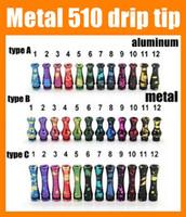 Wholesale Ecig Drip - Drip tips for mods driptips 510 splash drip tip wide dhl ecig accessories gourd shape for rda rba mini haze snowman kennedy FJ185