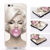 Bunte bemalte Marilyn Monroe Telefonkasten für iPhone 6 für iPhone 6 Plus