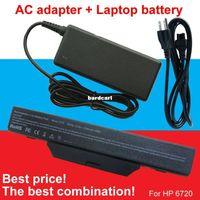 Wholesale Hp 6735s Battery - Free shipping- 1pcs laptop battery + 1pcs AC Adapter For HP COMPAQ 550 610 615 6720s 6730s 6735s 6820s 6830s HSTNN-IB62 HSTNN-OB62 HSTNN-IB5