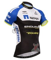 Wholesale Cycling Jersey Skinsuit - Wholesale-Fuji NetApp Team 2015 Cycling Jersey Short Sleeve Shirt Skinsuit Sweater Clothing Bike Bicycle Cycle Wear Clothes Summer