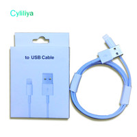 Wholesale Iphone 5s Cable Oem - 100pcs lot 8 generations Original OEM Quality 1m 3ft USB Data Sync Charger Cable tepy c cable for samsung s8 phone 5s 6 6s 7 7plus 8 8plus