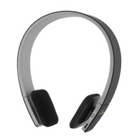 Wholesale Skype Headset Wireless - Wholesale-New Wireless Bluetooth Stereo Headphone Headset Mic for PC Phones for PS3 Skype xiaomi lenovo Black