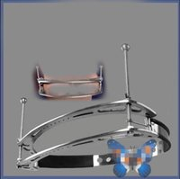 Wholesale Women Steel Restraints - breast bondage gear bdsm restraints steel clips clamps slave torture trainer adult sex toys for women