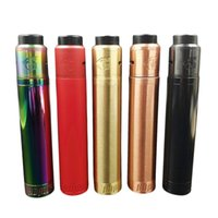 Wholesale Button Kits - Vaporizer Broadside Mod Kit Extended edition 4 Colors Magnetic Firing Button fit 18650 Battery For 510 Atomizers Broad Side E Cigarette