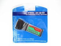 Wholesale Pci Expresscard Adapter - Express Card 34mm to RS232 Serial Port Adapter ExpressCard Laptop Notebook