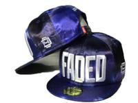 Wholesale Faded Snapback - 2016 D9 Reserve FADED Purple Snapback Hats Famous Brand Hip Hop Snapbacks Baseball Sports Caps For Men Women Sun Cap Hat DD