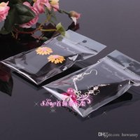 Wholesale Earrings Plastic Bags with Packing Cards cm Earring Plastic with Flannelette earrings display packing card PACK
