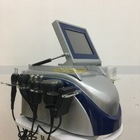 Wholesale Bipolar Rf Skin Care - 5 in 1 Fat burning! weight loss 40K ultrasonic lipo laser bipolar tripolar RF facial skin care buttock slimming cellulite removal machine