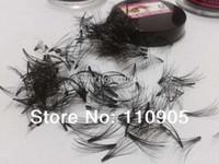 vrais cils humains achat en gros de-Gros-Cluster Extension de cils de cheveux humains 100%, doux, vrais cheveux humains Flare Eye Lashes, 10P Flare Crazy Eyelashes, livraison gratuite