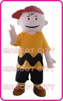 Wholesale Cheap Xxl Dresses - Cheap Anime cosply Fancy Dress Charlie Brown MASCOT Adult Carnival Mascotte cosply Dress Kits Suit Factory Direct SW1570