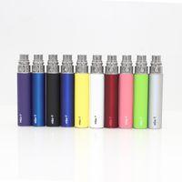 Wholesale Ego Batteries Colorful Designs - OEM Design eGo T Battery E Cigarette Battery Colorful 650mah 900mah 1100mah 1300mah Electronic Cigarettes Battery 10 Colors DHL Free