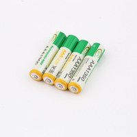 Wholesale Ni Mh Rechargeable - 4pcs 1.2V AAA Rechargeable Battery NI-MH Battery, For Children's Toy Remote Control And More 1350 hot new