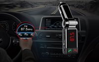 Car MP3 Player Transmisor FM con cargador de coche Pantalla LED y 2 USB Line-in Bluetooth habilitado BC06