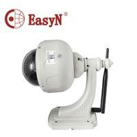 Wholesale Easyn Dome - EasyN V10R Outdoor Waterproof Dome Wifi Camera Security CCTV System Pan Tilt 1.3MP IR-CUT 22 IR LEDs Wireless Surveillance Cam