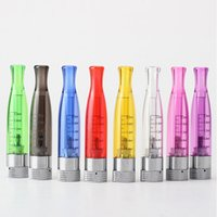 Wholesale Ego Compatible Batteries - GS-H2 Atomizer e electronic cigarette Clearomizer no wick Rainbow color, replace ce4 ce5 atomizer Compatible with All ego 510 battery