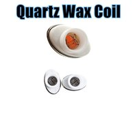 Wholesale Quartz Wax Ceramic Dual Coil Replacement Core Atomizer For Wax Vaporizer Pen Quartz Rod for Elips Cloud Pen
