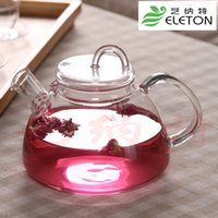 Wholesale Glass Bottle Large Capacity - Large capacity nice high borosilicate glass kettle cooker teapot electromagnetic furnace heated tea tank drinkware infuser bottle Induction