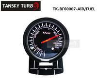 Compra Carburante Per Veicoli-Tansky Universal Auto / Veicolo RATIO AIR / FUEL Meter / Gauge Defi 60mm RATIO AIR / MANOMETRO CARBURANTE Black Bracket TK-BF60007-AIR / FUEL