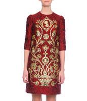 moda kadınlar elbise elbise toptan satış-Yenilik Boncuklu Kadınlar Shift Elbise Moda Baskı Kısa Kollu Parti Elbiseler 15081592E