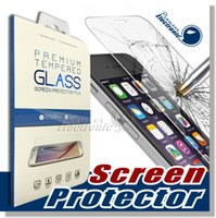 Wholesale Touch Screen Protectors Films - For iPhone X 8 Tempered Glass 3D Touch Compatible Premium Samsung Screen Protector Film for Apple iPhone 6 and iPhone 6s Plus HD Screen Film
