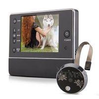 "Wholesale Night Viewer - 3.5"" Ultra bright TFT LCD display peephole camera digital video door viewer 120 degree wide degree night vision 120°3X ZOOM"