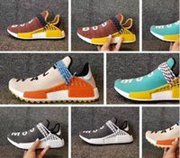 Wholesale Race Collection - 2017 Big Size X Pharrell Human NMD Trail Hiking Collection NMD Human Race Fall Winter Boost ultra Boost Runner For Boots shoes 36-47