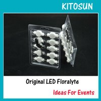 KITOSUN100pcs/Pack superhelle Led Floralyte Hanging Paper Laternenlicht