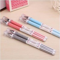 Wholesale Office Usa Wholesale - new creative usa flag style gel-ink pen for students   high quality office stationery gel pen as promotion gifts12pcs lot ARC801