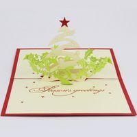 qubiclife saludo de la navidad d estreo tarjeta de navidad ideas de tarjetas hechas a mano tarjeta hecha a mano d d pop up regalo saludo d