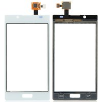 Wholesale Lg L7 Screen - New Touch Screen Digitizer Replacement For LG Optimus L7 P700 Touch Screen Digitizer White Free shipping B0240