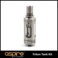 Replaceable organic control - e cigarette Aspire Triton Tank with RBA System Top filling tank organic cotton Aspire Triton Sub Ohm Tank Airflow Control