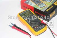 Wholesale Vc97 Auto Range Digital Multimeter - Digital multimeter Auto range Send Multimeter probe AC DC Resistance Capacity Frequence Temperature Digital Multimeter VC97 order<$18no trac