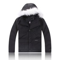 Wholesale Children S Coat Jacket - 2018 High Quality CANADA New Winter child Down puffer jacket Casual Brand Hoodies Down Parkas Warm Ski child Coats c25
