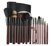 Wholesale goat bags - Brand Kevyn Aucoin Professional Makeup Brushes 14pcs KA the essential brush collection make up brush set tools kit with bag.
