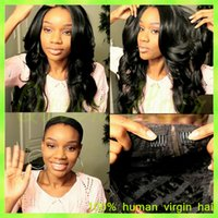 Wholesale Mixed Colour Straight Wig - Brazilian glueless full lace human hair wig natural colour curly cheap small mid large cap new arrival charming free shiping wig