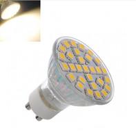 Wholesale E27 Led 29 - DHL Free 8W 29 SMD 5050 GU10 E27 MR16 Led Bulbs Lights 120 Angle LED Spotligt Ceiling Saving Lamp Warm Cool White 220V 12V